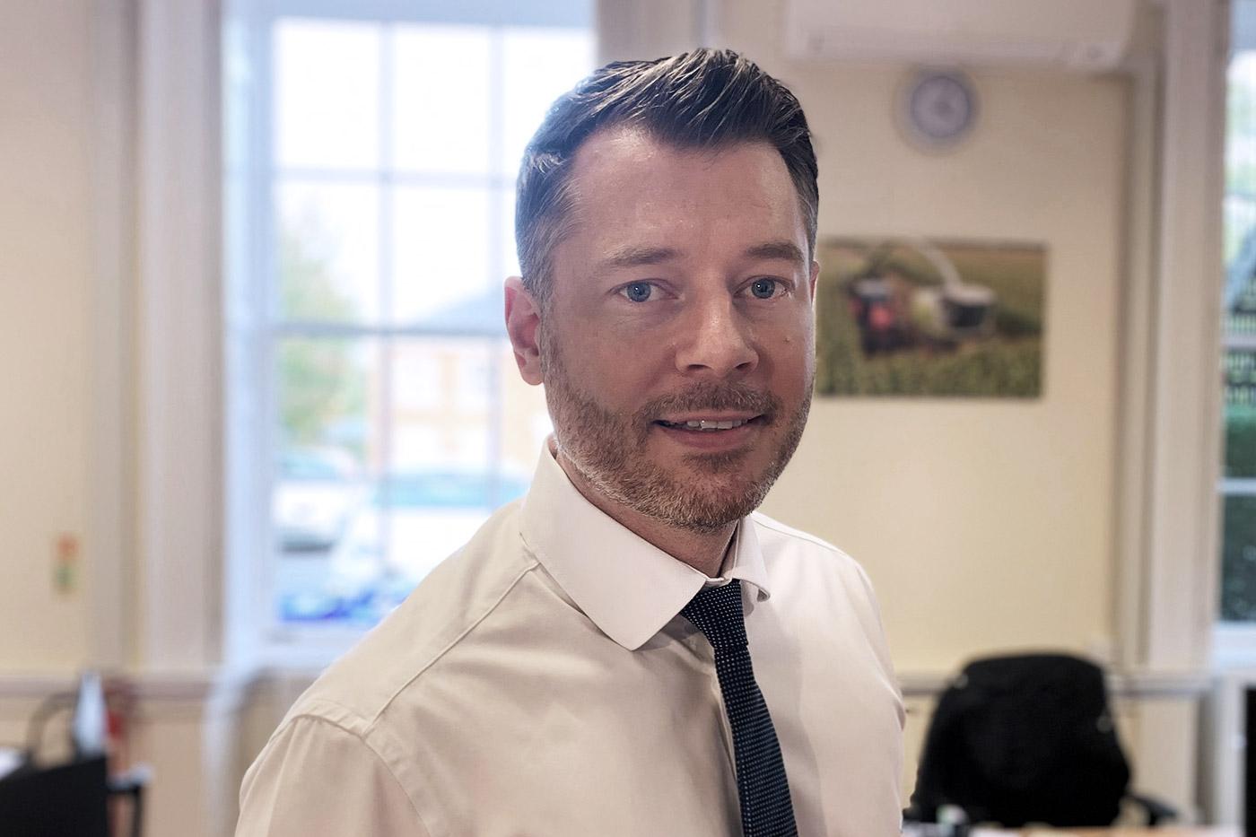 Dan Hewett - Head of Planning - Portrait Head Shot - Wilson Wraight